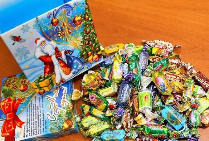 Подарки для детей на новый 2017 год